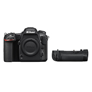 D500 Digital SLR Camera Body with MB-D17 Multi Power Battery Pack