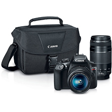 EOS Rebel T6 Digital SLR Camera with 18-55mm and 75-300mm Lenses Kit Image 0