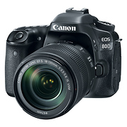 EOS 80D Digital SLR Camera with EF-S 18-135mm f/3.5-5.6 IS USM Lens
