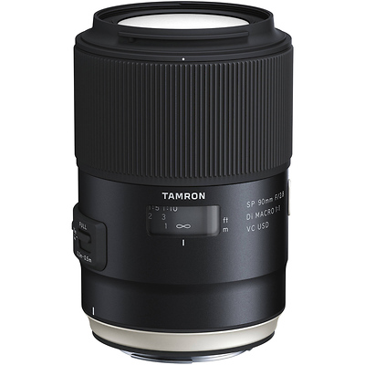 SP 90mm f/2.8 Di Macro 1:1 VC USD Lens for Canon Image 0