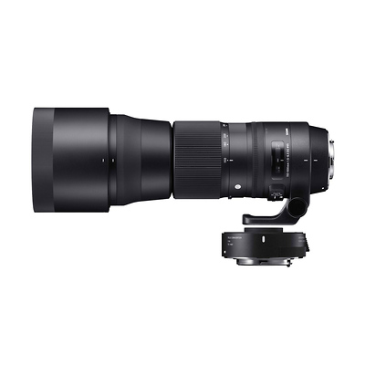 150-600mm F5-6.3 DG OS HSM Contemporary Lens with 1.4X TeleConverter Kit for Nikon Image 0