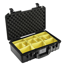 1525AirWD Carry-On Case (Black, with Dividers) Image 0