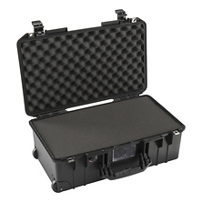 1535Air Wheeled Carry-On Case (Black, with Pick-N-Pluck Foam) Image 0