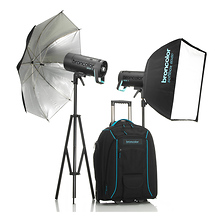 Siros L 800Ws Battery-Powered 2-Light Outdoor Kit 2 Image 0