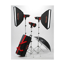 Matrix MCD400R 400Ws Monolight 3-Light Kit Image 0