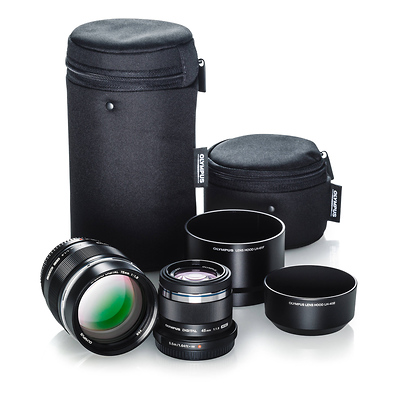 Portrait Kit with 45mm f/1.8 and 75mm f/1.8 Lenses Image 0