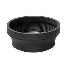 55mm Wide Angle Rubber Lens Hood Image 0