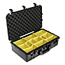 1555AirWD Carry-On Case (Black, with Dividers)