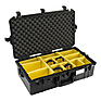 1605AirWD Carry-On Case (Black, with Dividers)