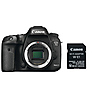 EOS 7D Mark II Digital SLR Camera Body with W-E1 Wi-Fi Adapter