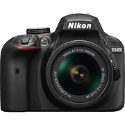 D3400 Digital SLR Camera with 18-55mm Lens (Black)