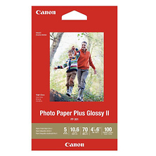 4 x 6 In. Photo Paper Plus Glossy II (100 Sheets) Image 0