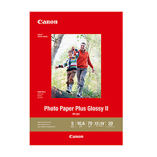 13 x 19 In. Photo Paper Plus Glossy II (20 Sheets) Image 0