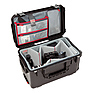 iSeries 2213-12 Case with Think Tank Designed Video Dividers and Lid Organizer (Black)