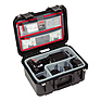 iSeries 1309-6 Case with Photo Dividers and Lid Organizer (Black) Thumbnail 1