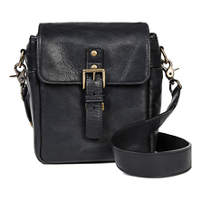 Bond Street Leather Camera Bag (Black) Image 0