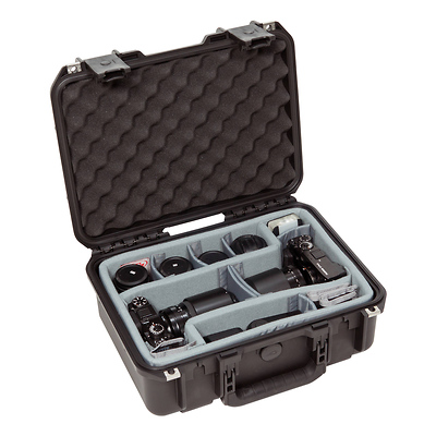 iSeries Case w/Think Tank Designed Photo Dividers & Lid Foam (Black) Image 0