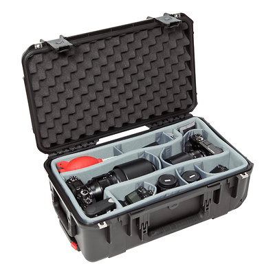 iSeries 2011-7 Case with Photo Dividers & Lid Foam (Black) Image 0