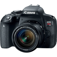 EOS Rebel T7i Digital SLR Camera with 18-55mm Lens Image 0