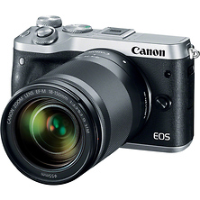 EOS M6 Mirrorless Digital Camera with 18-150mm Lens (Silver) Image 0