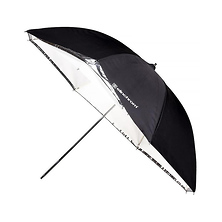 33 In. Umbrella Shallow (White/Translucent) Image 0