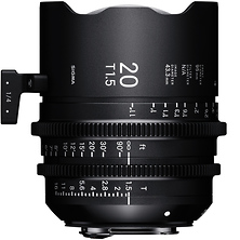 20mm T1.5 FF High Speed Prime Lens for Canon EF Mount Image 0