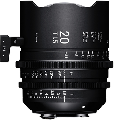 20mm T1.5 FF High Speed Prime Lens for Sony E Mount Image 0