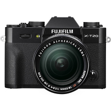 X-T20 Mirrorless Digital Camera with 18-55mm Lens (Black) Image 0