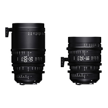 18-35mm and 50-100mm Cine High-Speed Zoom Lenses for PL Mount with Case Image 0