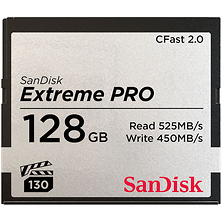 128GB Extreme PRO CFast 2.0 Memory Card Image 0