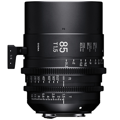 85mm T1.5 FF High Speed Prime Lens for Canon EF Mount Image 0