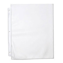 11 x 8.5 In. Polypropylene Express Sheet Protector (Portrait Format, 10 Sheets) Image 0