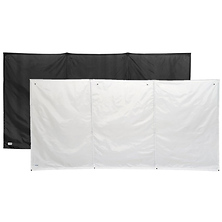 The WallUp! 6 x 12 ft. Super Sized Reflector Kit (Black & White) Image 0