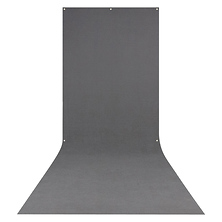 X-Drop Wrinkle-Resistant Backdrop Neutral Gray Sweep (5 x 12 ft.) Image 0