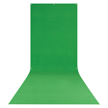 X-Drop Wrinkle-Resistant Backdrop Chroma-Key Green Sweep (5 x 12 ft.) Image 0