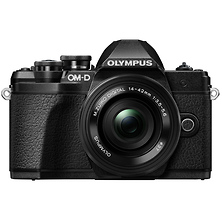 OM-D E-M10 Mark III Mirrorless Micro Four Thirds Digital Camera with 14-42mm Lens (Black) Image 0