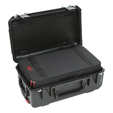 iSeries 2011-7 Case with Removable Zippered Divider Interior (Black) Image 0