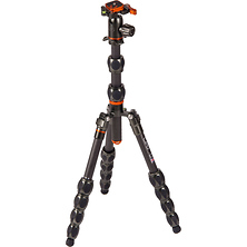 Equinox Leo Carbon Fiber Tripod System & AirHed Switch Ball Head (Gunmetal Gray) Image 0