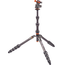 Albert Carbon Fiber Travel Tripod with AirHed 360 Ball Head (Gunmetal Gray) Image 0
