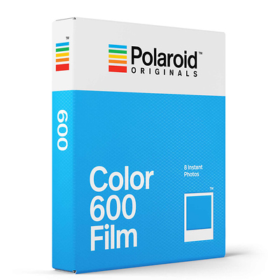 Color 600 Instant Film (8 Exposures) Image 0