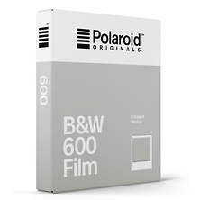 Black & White 600 Instant Film (8 Exposures) Image 0