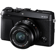 X-E3 Mirrorless Digital Camera with 23mm f/2.0 Lens (Black)