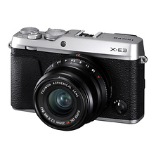 X-E3 Mirrorless Digital Camera with 23mm f/2.0 Lens (Silver) Image 0