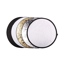 43 In. Collapsible 5-in-1 Reflector Disc Image 0