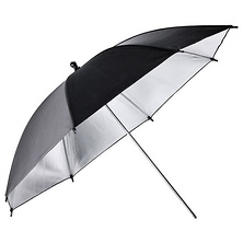 40 In. Reflector Umbrella (Black/Silver) Image 0