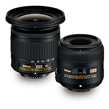 Landscape & Macro 10-20mm f/4.5-5.6 & 40mm f/2.8 Two Lens Kit Image 0