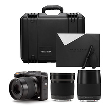 X1D-50c Medium Format Mirrorless Digital Camera & Lenses Field Kit (Black) Image 0