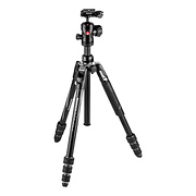 Befree Advanced Travel Al Tripod with Ball Head (Twist Locks, Black)