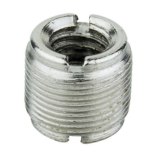 Microphone Screw Adapter 3/8 In. Female to 5/8 In. Male Image 0