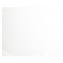 Polypropylene Express Sheet Protector (Landscape, 11 x 14 In. 10 Sheets) Image 0